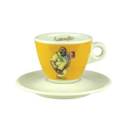 Lucaffe CappuccinoTasse Gelb