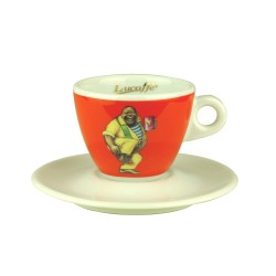 Lucaffe CappuccinoTasse Orange