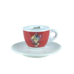 Lucaffe EspressoTasse Rot
