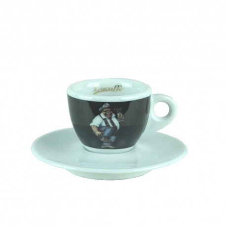 Lucaffe EspressoTasse Schwarz