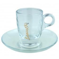 Lucaffe Espressoglas mit Henkel