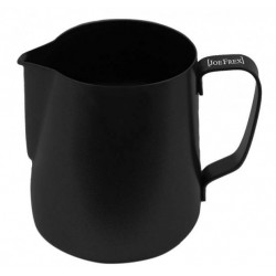 Milchkännchen Teflon-Perlbeschichtung schwarz